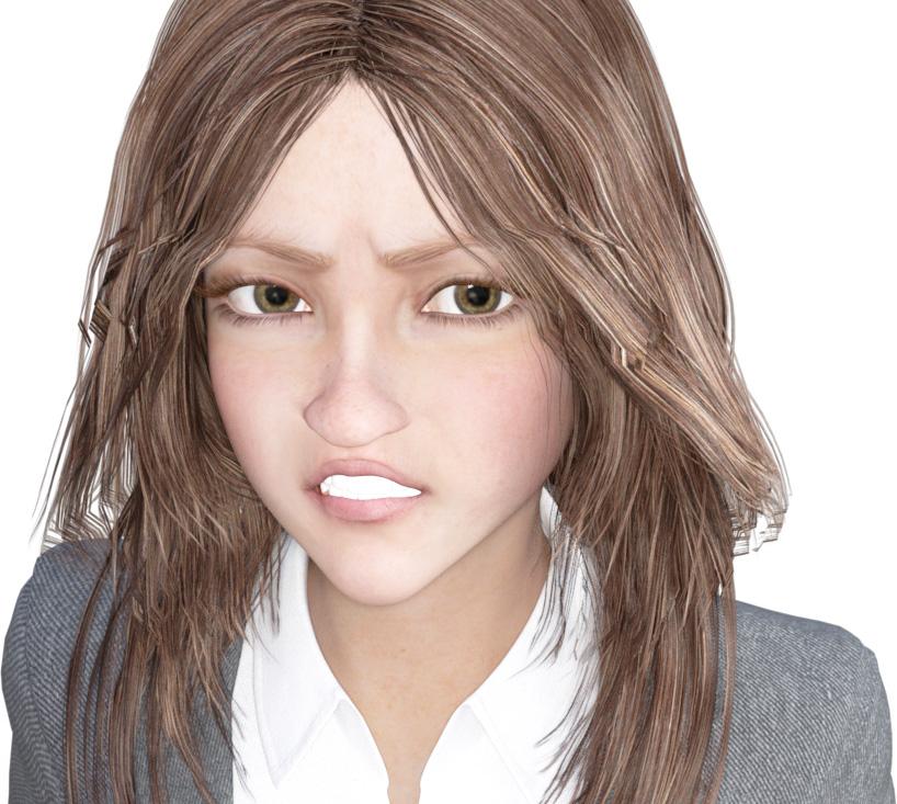 【連載】DAZ STUDIOで可愛い女の子-4(表情編)